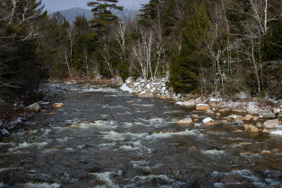 Winter: Swift River